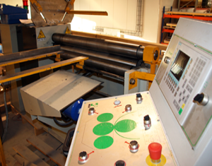 Roller – CNC operated 4 wheel roller