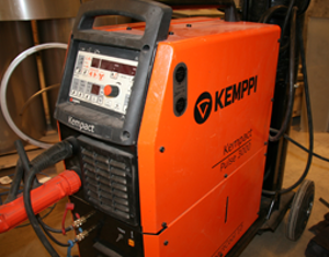 Welding machine - For different types of metals
