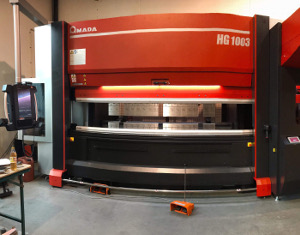 Bending / cut -  Amanda HG 1003 CNC operated
